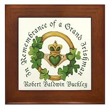 Robert Baldwin Buckley Framed Tile