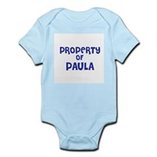 Property of Paula Infant Creeper