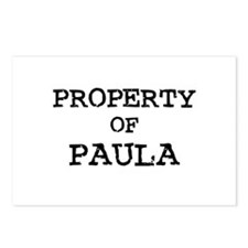 Property of Paula Postcards (Package of 8)