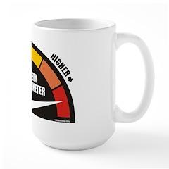 Addict-O-Meter Large Mug