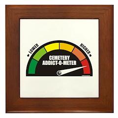 Addict-O-Meter Framed Tile