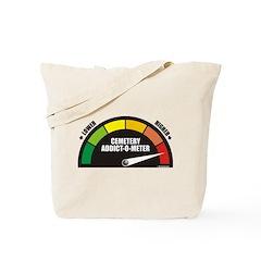 Addict-O-Meter Tote Bag