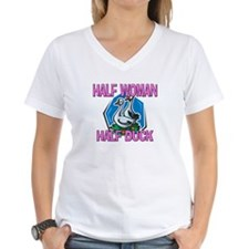 Half Woman Half Duck Shirt