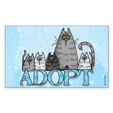 adopt Rectangle Decal