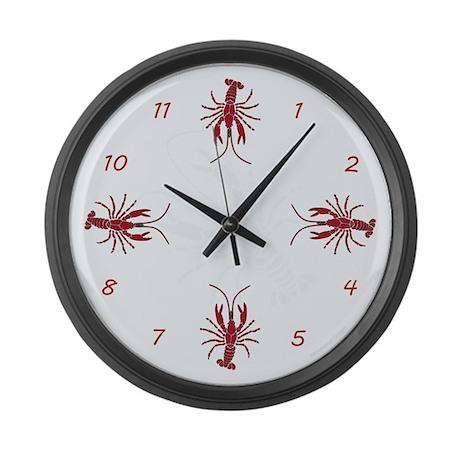 Crayfish Giant Clock