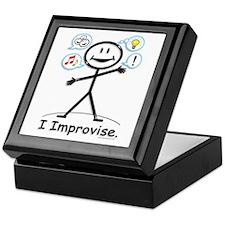 BusyBodies Improv/Comedy Keepsake Box