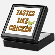 Tastes Like Chicken Keepsake Box