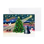 XmasMagic/TibetanTer 5 Greeting Card