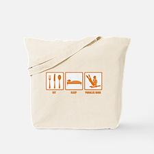 Eat Sleep Parallel Bars Tote Bag