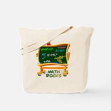 Math Rocks Chalk Board Tote Bag