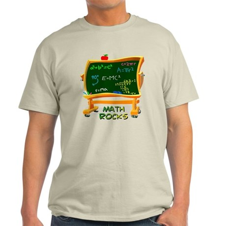 Math Rocks Chalk Board Light T-Shirt