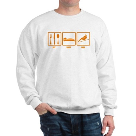 Eat Sleep Luge Sweatshirt