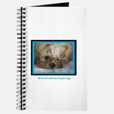 Shih Tzu Pop Art Cappuccino Journal