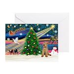XmasMagic/Lakeland Ter Greeting Card