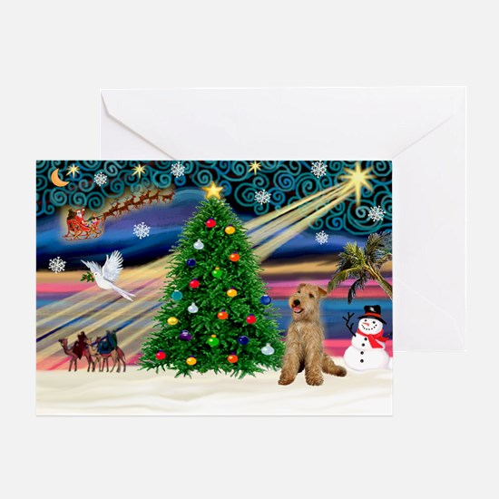 XmasMagic/Lakeland Ter Greeting Card