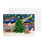 XmasMagic/Lakeland Ter Greeting Cards (Pk of 20)