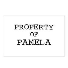 Property of Pamela Postcards (Package of 8)