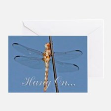Dragonfly Encouragement Greeting Card