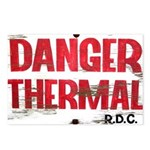 Danger Thermal (Hot) Postcards (Package of 8)