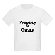 Property of Omar Kids T-Shirt