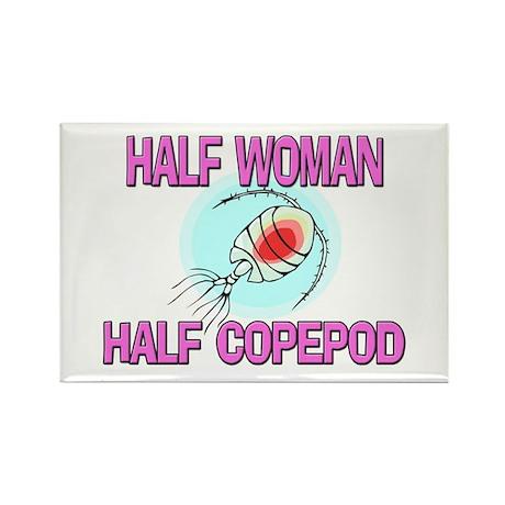 Half Woman Half Copepod Rectangle Magnet (10 pack)