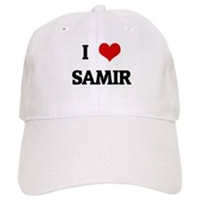I Love SAMIR Baseball Cap