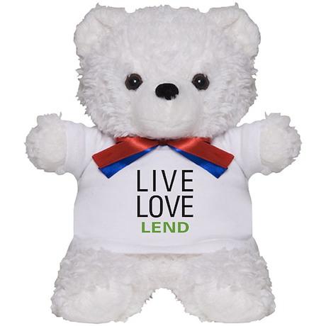 Live Love Lend Teddy Bear