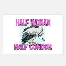 Half Woman Half Constrictor Postcards (Package of