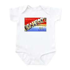 Beaufort South Carolina Greetings Infant Bodysuit