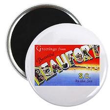 Beaufort South Carolina Greetings Magnet