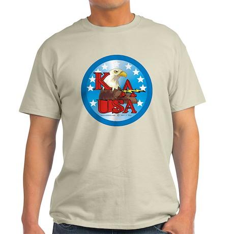 Kick Ass USA Ash Grey T-Shirt