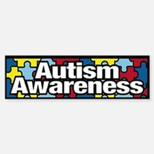 Autism Awareness Bumper Bumper Bumper Sticker