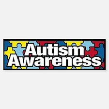 Autism Awareness Bumper Car Car Sticker
