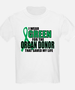Green For Organ Donor T-Shirt