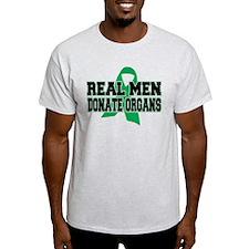Real Men Donate Organs T-Shirt