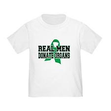 Real Men Donate Organs T