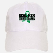 Real Men Donate Organs Baseball Baseball Cap