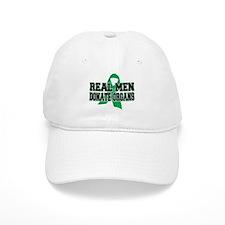 Real Men Donate Organs Baseball Cap