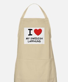 I love MY SWEDISH LAPPHUND BBQ Apron
