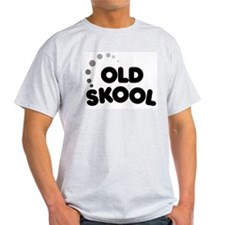 Old School Ash Grey T-Shirt
