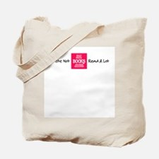 Waste Not, Read a Lot Tote Bag