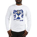 Bourdon Family Crest Long Sleeve T-Shirt