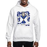Bourdon Family Crest Hooded Sweatshirt