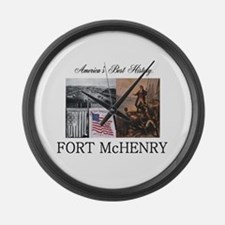 ABH Fort McHenry Large Wall Clock