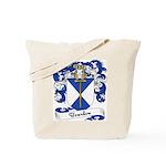 Bourdon Family Crest Tote Bag