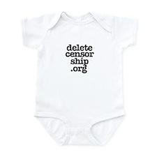 Delete Censorship Infant Bodysuit