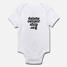 Delete Censorship Infant Bodysuit