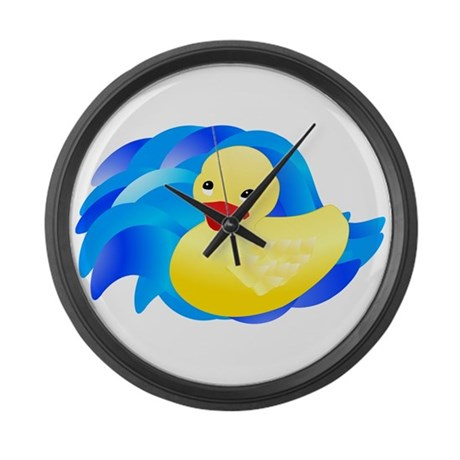 Rubber Ducky Giant Clock