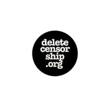 Delete Censorship Mini Button