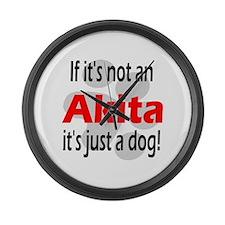 Not An Akita-2 Giant Clock